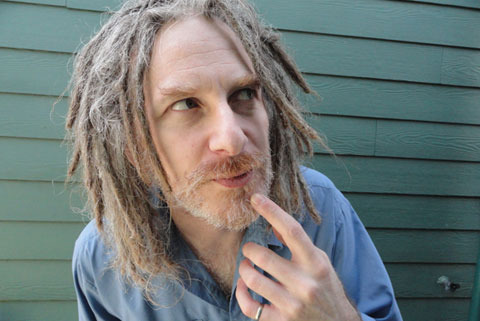 Guy with dreads