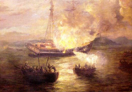 burning of the HMS Gaspee