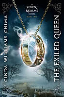 """Book cover of """"The Exiled Queen"""""""