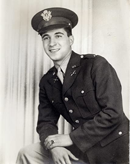 Army Lt. Peter Babalas as he looked during WWII