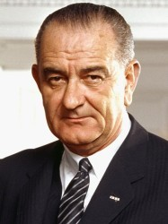 Lyndon B. Johnson (March 1964), 36th President of the United States (Photo: Arnold Newman, WHite House Press Office)