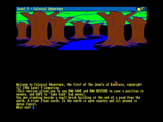 Colossal Cave Screen Shot