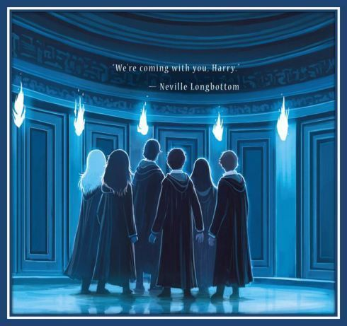 """""""We're coming with you, Harry."""" Harry Potter and the Order of the Phoenix"""