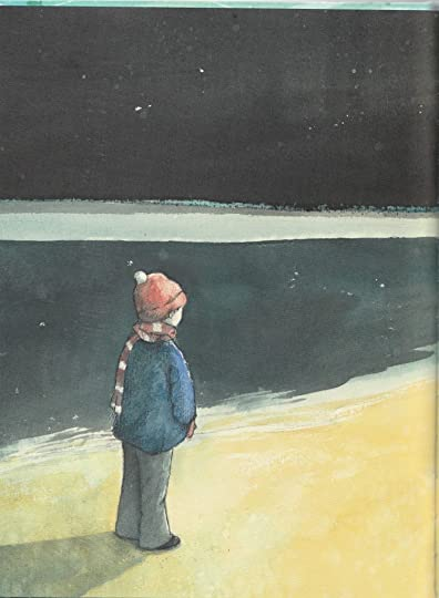 boy on beach Welcome Home by Christina Booth