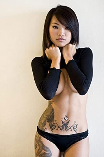 asian girl with tattoos