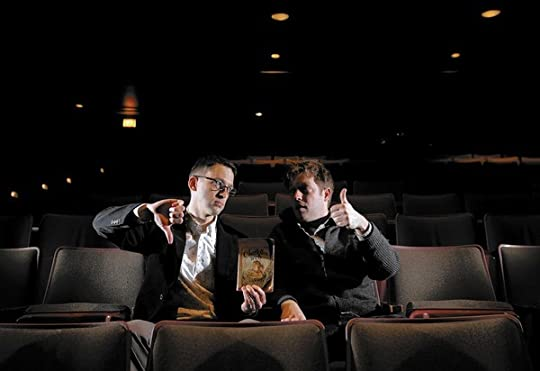 Keir Graff and James Kennedy at the Vittum Theater in Chicago