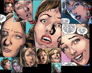 The many faces of Dorothy, from the first two chapters.