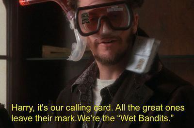Wet Bandits Home Alone