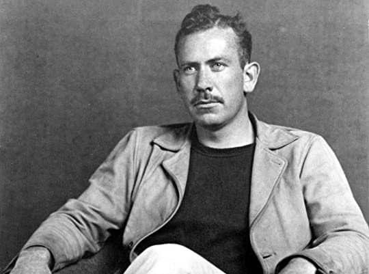 "John Steinbeck, author of ""The Grapes of Wrath."""
