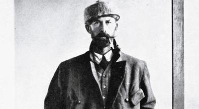 Percy Fawcett looking more detectivy than explorer...