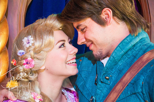 Rapunzel and Flynn Rider (Explored)