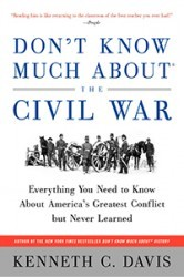 Don't Know Much About the Civil War (Harper paperback, Random House Audio)