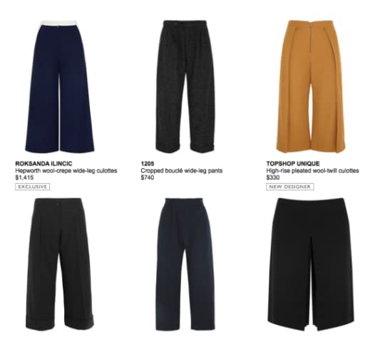 Various styles from Net A Porter.