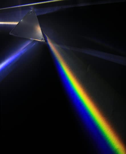 Refracting Light Through a Prism