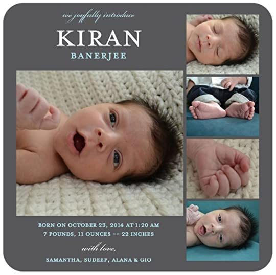 Kiran Birth Announcement