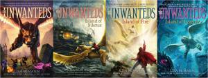 Unwanteds 1-4 covers