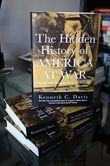 THE HIDDEN HISTORY OF AMERICA AT WAR: Untold Tales from Yorktown to Fallujah (May 5-Hachette Books?Random House Audio)