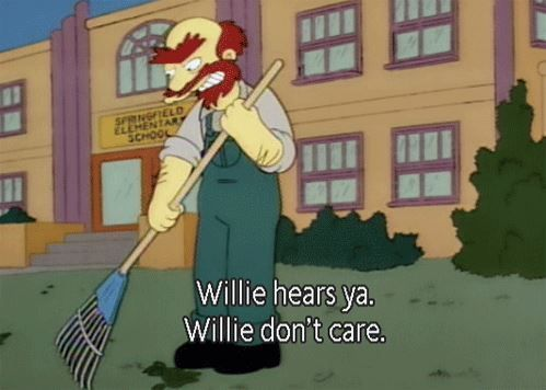 willie don't care