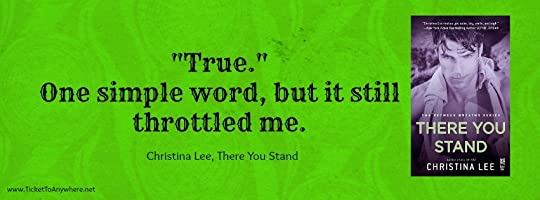 There You Stand Quote