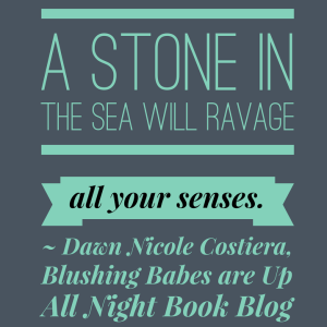 A stone in the sea graphic