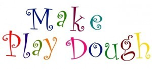Make Playdough