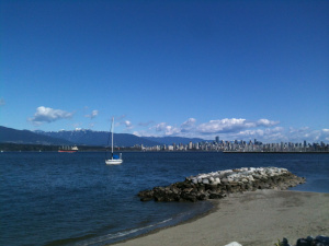 Caprica City, before the Fall. (Okay, it's really Vancouver, but still.)