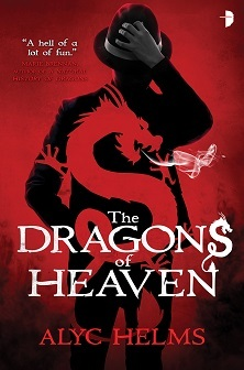 Cover for The Dragons of Heaven, by Alyc Helms
