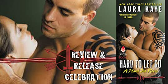 site banner for Laura Kaye's HARD TO LET GO Review