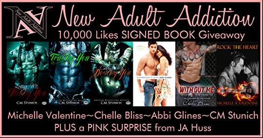 10K LIKES GIVEAWAY: Six Signed Books & Surprise from JA Huss