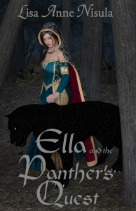 Ella and the Panther's Quest new cover