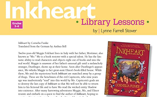 Inkheart Library Lessons