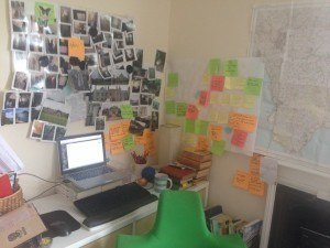 Maps of Cornwall, book plan, photos of creeks and dresses ahoy!