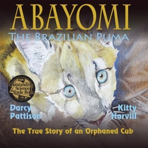 Abayomi, the Brazilian Puma in English. Named an NSTA Outstanding Science Trade Book 2015. | DarcyPattison.com