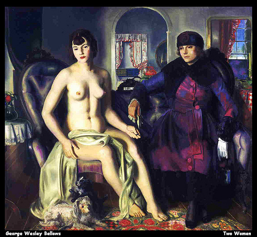 George Wesley Bellows Two Women