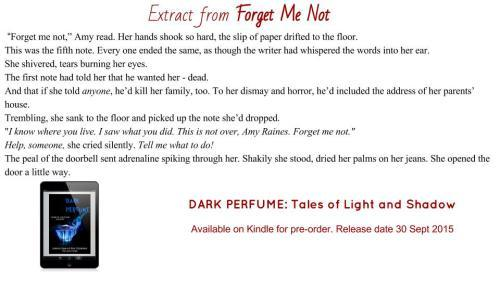Extract from Forget Me Not