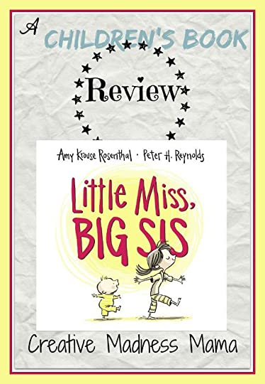 Little Miss Big Sis Children's Book Review