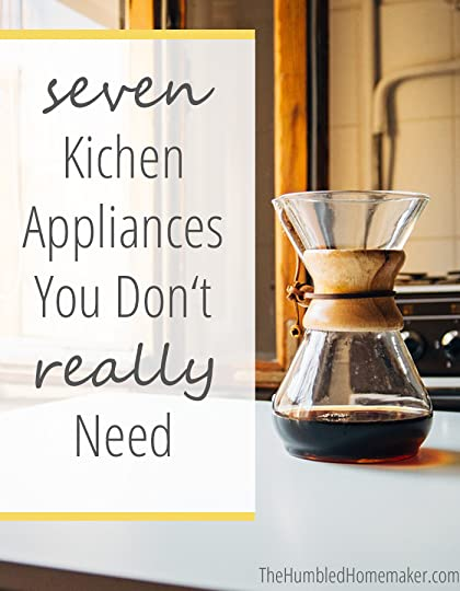 You don't own every kitchen gadget known to man? Don't worry. Here are seven kitchen appliances you don't really need.