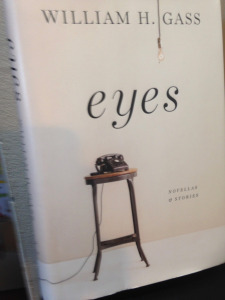 Eyes by William Gass book cover