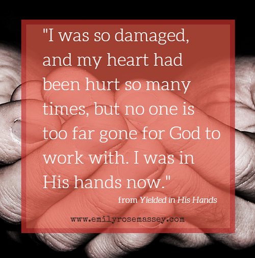 yielded in his hands, emily rose massey, book, testimony