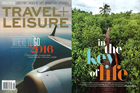 Lisa Unger's 2016 Travel and Leisure Article - In the Key of Life