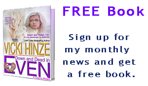 vicki hinze, newsletter and free book