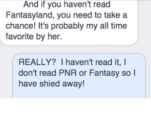 Message from Rachel Reads Ravenously