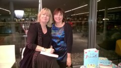 Getting my book signed by multi-million best-seller, JIll Mansell. And fangirling!