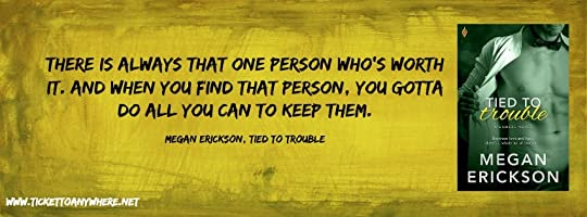 Tied to Trouble Quote