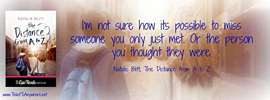 Distance from A to Z Quote