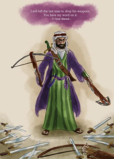Illustration of 71-hour Ahmed