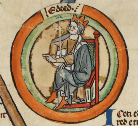 King Eadred of England