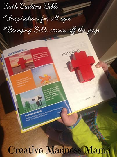 Faith Builders Bible is well received by the Creative Madness Mama kiddos