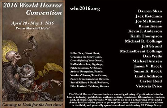 Poster for WHC 2016 features art by guest Keith Thompson