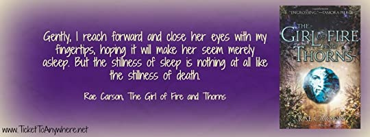 Girl of Fire and Thorns Quote